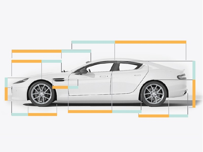 Golden ratio in Aston Martin car design