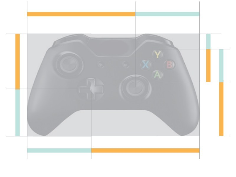 Golden Ratio in Xbox controller